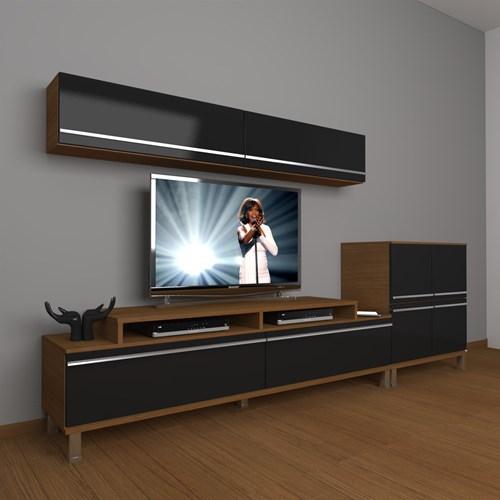 Ekoflex 6y Mdf Krom Ayaklı Tv Ünitesi - DA21TV02 görseli, Picture 5