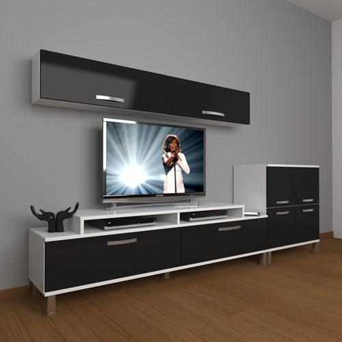 Ekoflex 6y Slm Krom Ayaklı Tv Ünitesi - DA21TV06 görseli, Picture 2