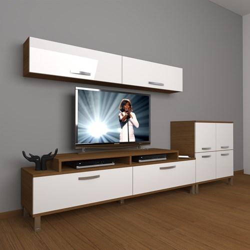 Ekoflex 6y Slm Krom Ayaklı Tv Ünitesi - DA21TV06 görseli, Picture 4