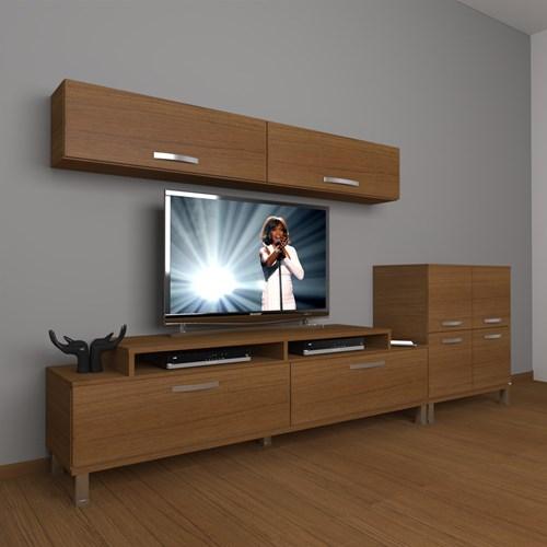 Ekoflex 6y Slm Krom Ayaklı Tv Ünitesi - DA21TV06 görseli, Picture 6