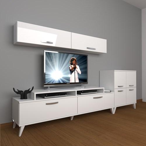 Ekoflex 6y Slm Retro Tv Ünitesi - DA21TV07 görseli, Picture 1