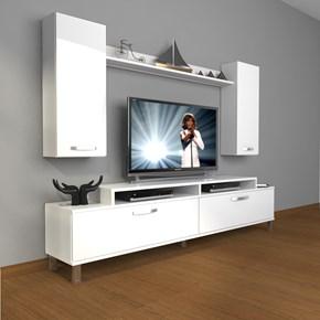 Ekoflex 7 Slm Krom Ayaklı Tv Ünitesi - DA22TV06 görseli