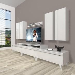 Ekoflex 8d Mdf Retro Tv Ünitesi - DA23TV03 görseli