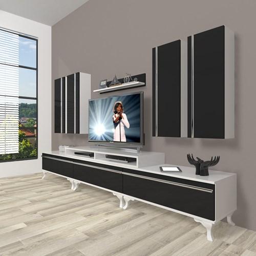 Ekoflex 8d Mdf Rustik Tv Ünitesi - DA23TV04 görseli, Picture 2