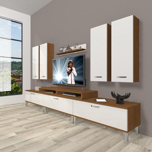 Ekoflex 8d Slm Krom Ayaklı Tv Ünitesi - DA23TV06 görseli, Picture 4