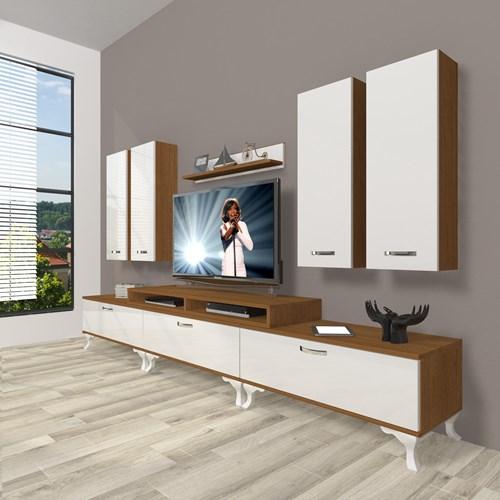 Ekoflex 8d Slm Rustik Tv Ünitesi - DA23TV08 görseli, Picture 4
