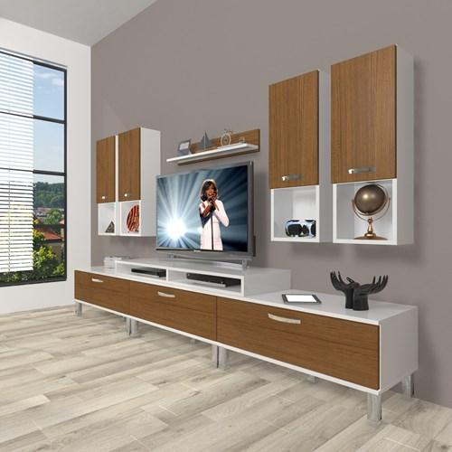 Ekoflex 8da Mdf Krom Ayaklı Tv Ünitesi  - DA23TV10 görseli, Picture 3