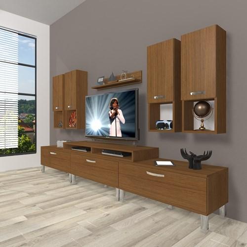 Ekoflex 8da Mdf Krom Ayaklı Tv Ünitesi  - DA23TV10 görseli, Picture 6