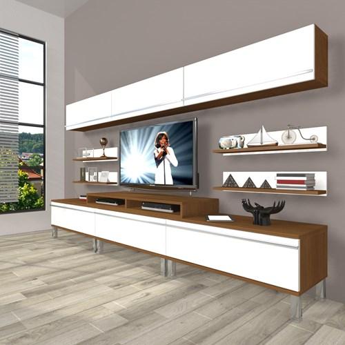 Ekoflex 8y Mdf Krom Ayaklı Tv Ünitesi - DA23TV18 görseli, Picture 4