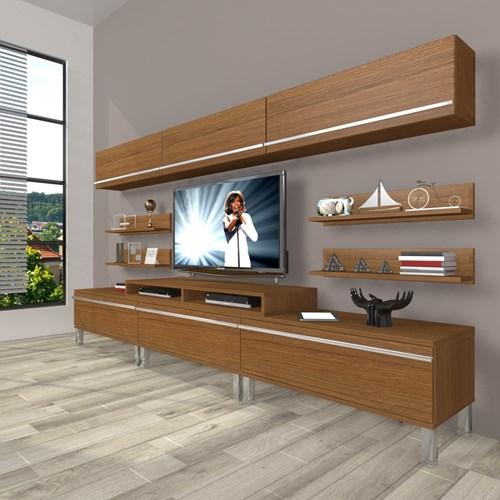 Ekoflex 8y Mdf Krom Ayaklı Tv Ünitesi - DA23TV18 görseli, Picture 6
