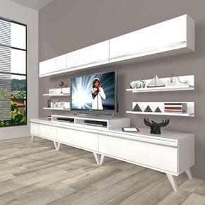 Ekoflex 8y Mdf Retro Tv Ünitesi - DA23TV19 görseli