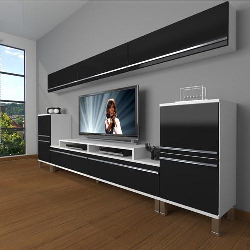 Ekoflex 9 Mdf Krom Ayaklı Tv Ünitesi - DA24TV02 görseli, Picture 2