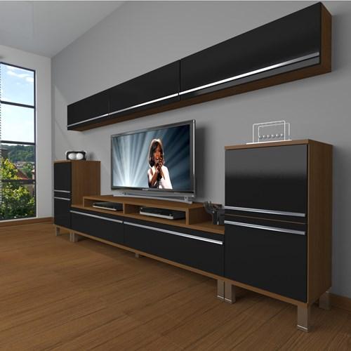 Ekoflex 9 Mdf Krom Ayaklı Tv Ünitesi - DA24TV02 görseli, Picture 5