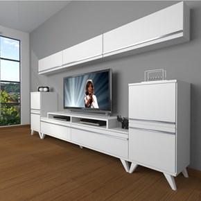 Ekoflex 9 Mdf Retro Tv Ünitesi - DA24TV03 görseli