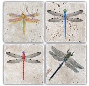 Yusufçuk Doğal Taş Bardak Altlıkları  - BA100 görseli