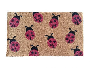Giz Home Koko Kapı Paspası 35x60 Uğur Böcekleri - 103KKUGBO3368 görseli