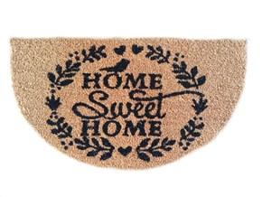 Giz Home Koko Kapı Paspası 40X70 Home Sweet Home Yarımay - 103KKHSHY2979 görseli