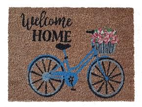 Giz Home Koko Kapı Paspası 40x60 Welcome Bisiklet - 103KKWCBS1901 görseli
