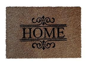 Giz Home Koko Kapı Paspası 40x60 Nakışlı Home Ferforje - 103KKNKHF1901 görseli