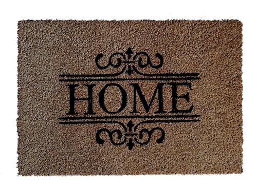 Giz Home Koko Kapı Paspası 40x60 Nakışlı Home Ferforje - 103KKNKHF1901 görseli, Picture 1