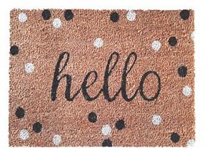 Giz Home Koko Kapı Paspası 40x60 Benekli Hello - 103KKBNKK1901 görseli