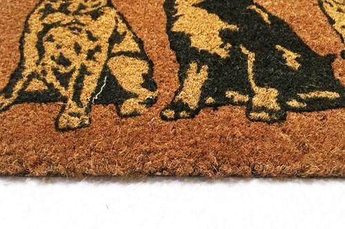 35X60 Üç Köpek Koko Dış Kapı Önü Paspası - 103KK00UK3368 görseli, Picture 1