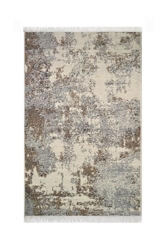 Albeni Pamuklu Çift Taraflı Kilim Gri Beyaz ALB8 160x230 - 201ABGRA83274 görseli, Picture 1