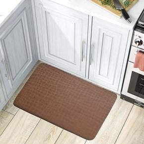 Giz Home Comfort Mat Mutfak Paspası 45X75  Kahve Mozaik - 103CFKHMZ3034 görseli