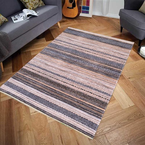 Giz Home Armas Halı Mixed Line 120X180 cm  - 301AM00ML3427 görseli, Picture 1