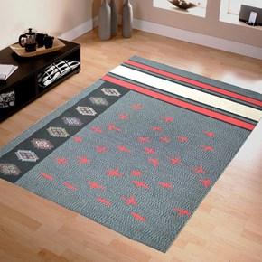Giz Home Molly Çift Taraflı Kilim 160X230 Ml12 Kırmızı Motifli - 201MLKMMT3273 görseli