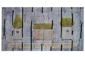 Giz Home Mozaik Kapı Paspası 45X75 1882 - 103MZ00FG1916 görseli