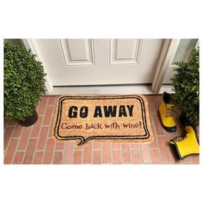 Giz Home Koko Kapı Paspası 40X60 Bej Go Away - 1103KKBJGA1901 görseli