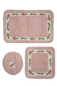 Giz Home Gül Klozet Takımı Kare 3Lü 60X100 Pink - 501GUPK001999 görseli