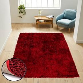 Giz Home Milano Halı 120X180 Kırmızı - 302MIKM002035 görseli