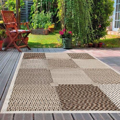 Giz Home Layton Dekoratif Halı 133X190 Kareli 87Y - 301LY00KR2265 görseli, Picture 1