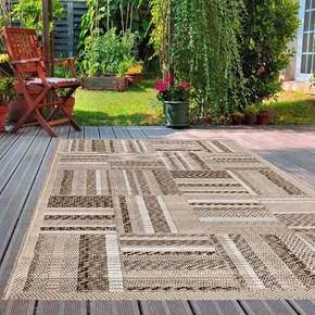 Giz Home Layton Dekoratif Halı 100X150 Geometrik - 301LY00GT2193 görseli