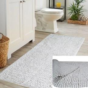 Giz Home Bella Solid Halı 120X180 Beyaz - 301BLBZSO2276 görseli