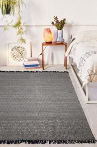 Giz Home Lux Alice Kilim 140X200 Siyah Gri - 201XALL002267 görseli