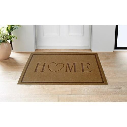 Giz Home Parga Kapı Paspası 40X75 Kalp - 103PR00KP1909 görseli, Picture 1