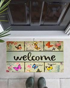 Giz Home Mozaik Kapı Paspası 45X75 8861-02-Wm- 103MZ61021916 görseli