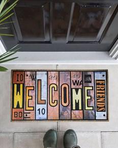 Giz Home Mozaik Kapı Paspası 45X75 8857-02 - 103MZ57021916 görseli