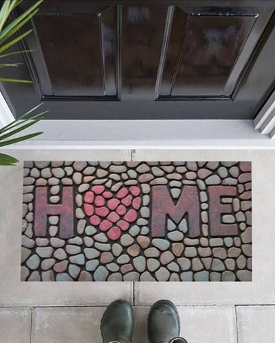 Giz Home Mozaik Kapı Paspası 45X75 8824-05 - 103MZ24051916 görseli, Picture 1