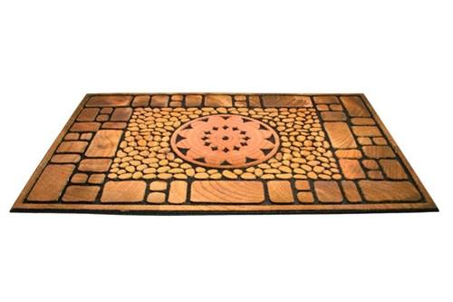 Giz Home Mozaik Kapı Paspası 45X75 Notre Dame - 103MZ00ND1916 görseli, Picture 1