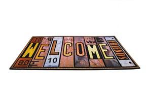 Giz Home Mozaik Kapı Paspası 40X60 8857-02 - 103MZ57021918 görseli