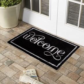 Giz Home Koko Kapı Paspası 45X75 Siyah Welcome - 103KKSYWC2818 görseli