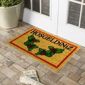 Giz Home Koko Kapı Paspası 33X55 Hoşgeldiniz Uğur Böceği - 103KKHGUB1925 görseli