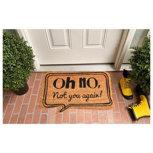 Giz Home Koko Kapı Paspası 40X60 Bej Oh No - 103KKBJON1901 görseli, Picture 1
