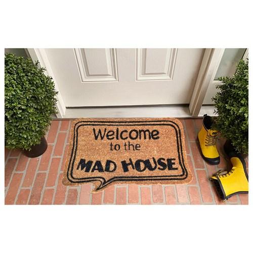 Giz Home Koko Kapı Paspası 40X60 Bej Mad House - 103KKBJMH1901 görseli, Picture 1