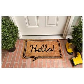 Giz Home Koko Kapı Paspası 40X60 Bej Hello - 103KKBJHL1901 görseli