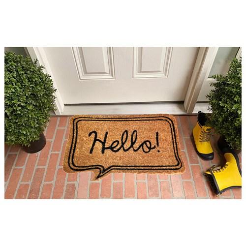 Giz Home Koko Kapı Paspası 40X60 Bej Hello - 103KKBJHL1901 görseli, Picture 1